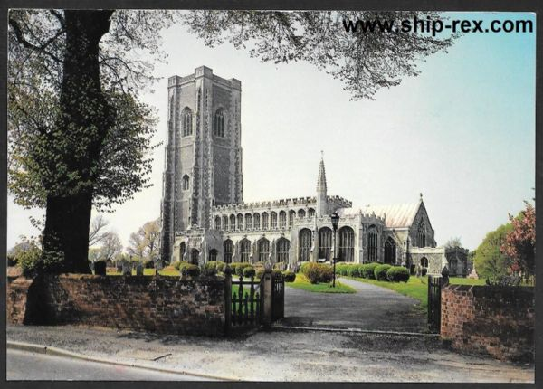 Lavenham, The Church of Sts Peter and Paul - postcard